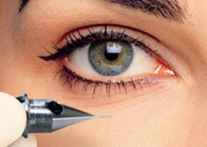 Permanente Make-up Ogen eyeliner amsterdam haarlem