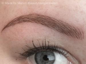 Permanente make-up Beauty Lounge Haarlem resultaat