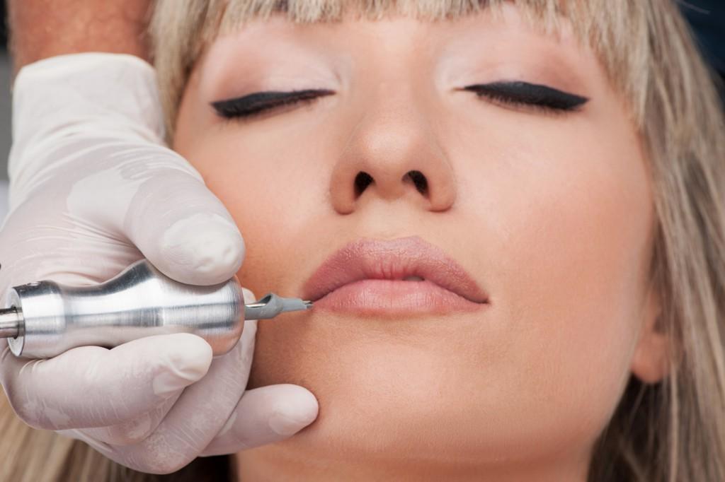 permanente make up lippen ogen wenkbrauwen