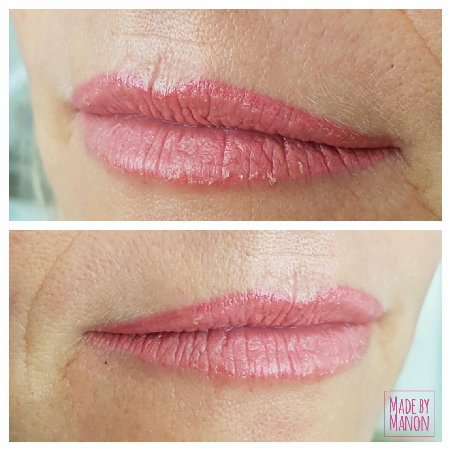 lippen permanente make up volle lippen amsterdam haarlem mooiste voor en na