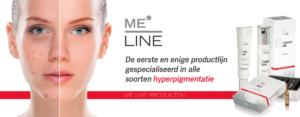 ME-linepigment ouderdomsvlek hyperpigmentatie haarlem